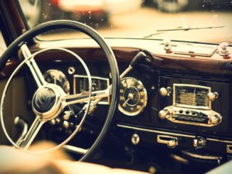 interior of a car